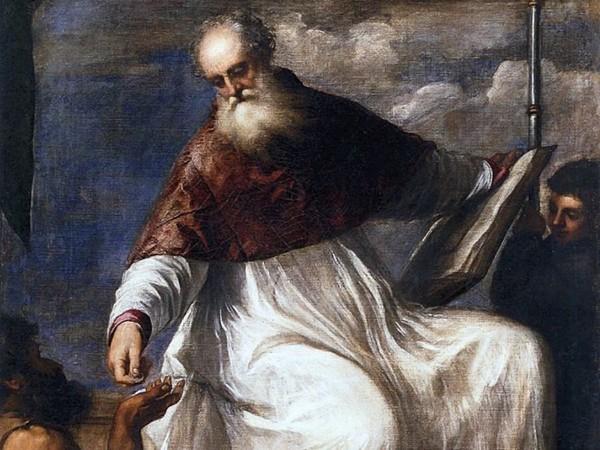 Pala di San Giovanni Elemosinario, Tiziano