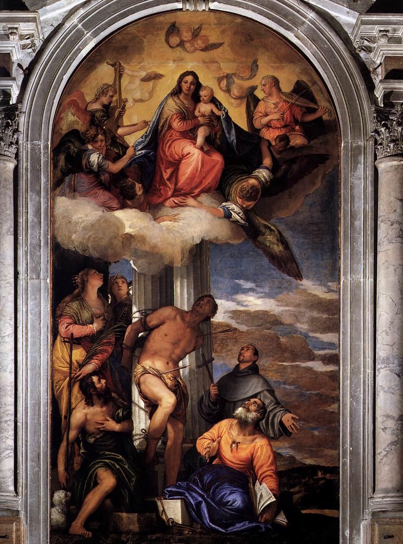 San Sebastiano, P. Caliari d. Il Veronese, 1559, Chiesa di San Sebastiano