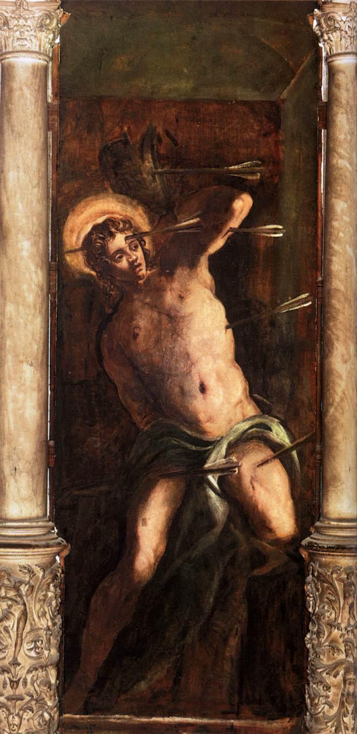 San Sebastiano, J. Robusti d. il Tintoretto, 1578-1581, Scuola Grande di San Rocco