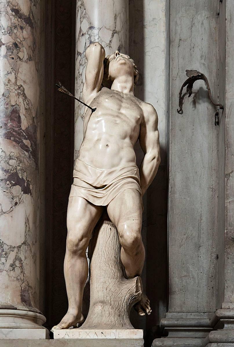 San Sebastiano, Alessandro Vittoria, 1600, Chiesa di San Salvador
