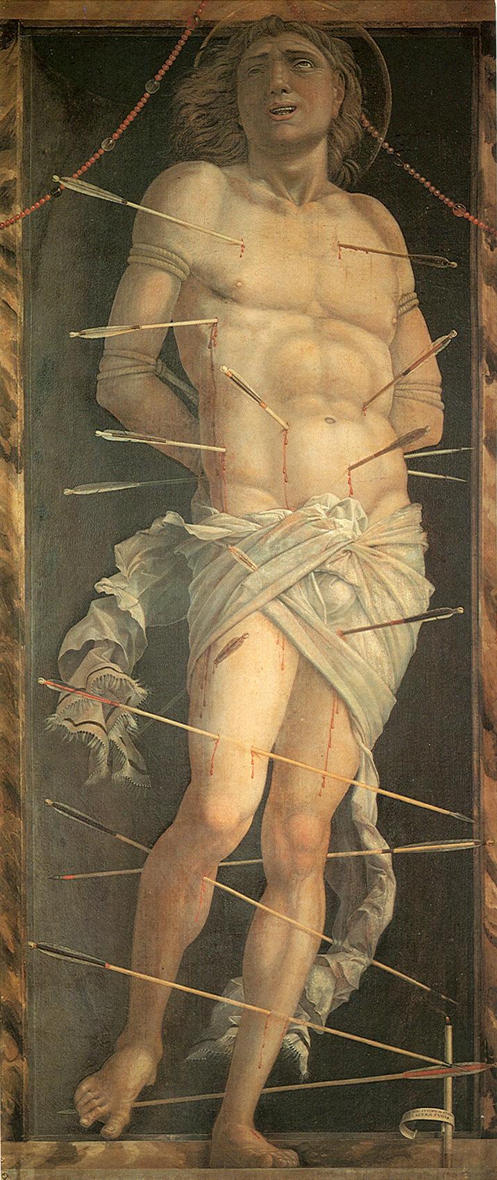 San Sebastiano, Andrea Mantegna, 1506, Ca' d'oro