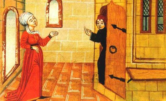 La guerra del castel d'amore in un'incisione di Giuseppe Gatteri
